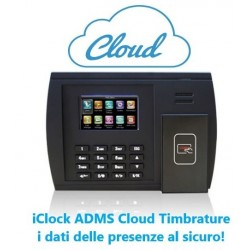 iClock ADMS Cloud Timbrature TulipMobile