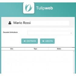 Timbratura Web Orologio Marcatempo Virtuale