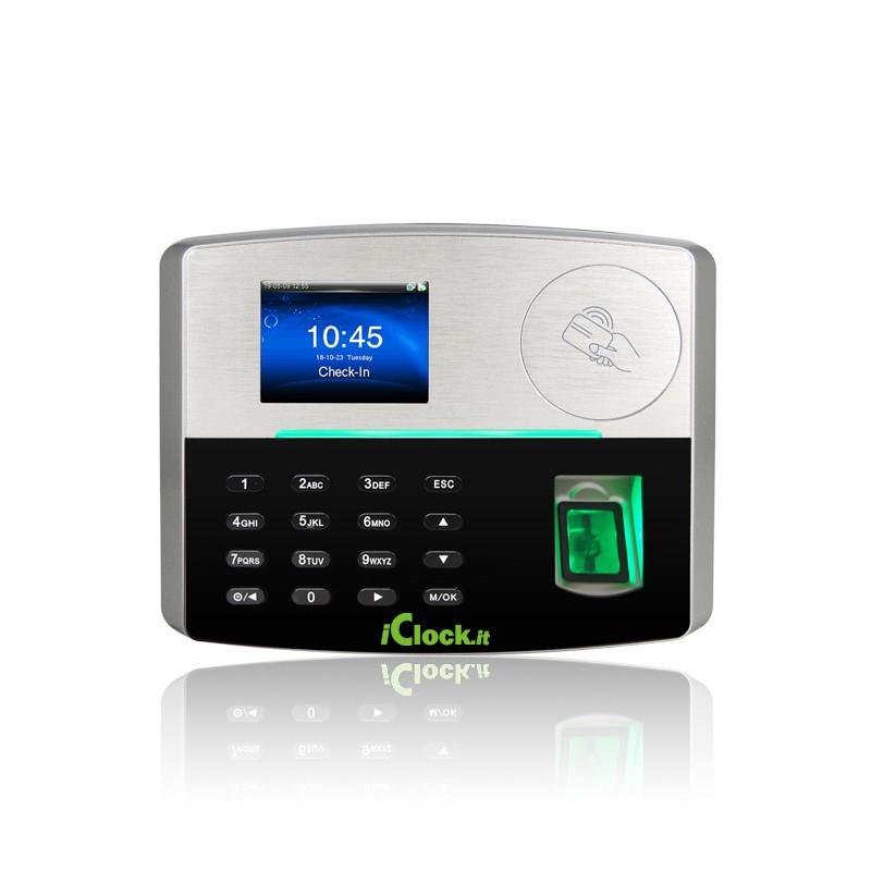 ICLOCK 8 FP Lettore impronte digitali e badge di prossimità