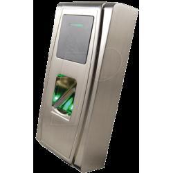 lato del lettore di impronte digitali i-MA-300 e RF per controllo accessi