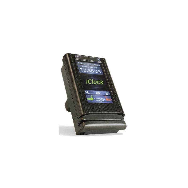 iClock Touch Orologio Rilevazione Presenze, Controllo Accessi, Produzione, Gestione Mensa, Info Point, Domotica, Commesse.