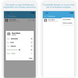 App Tulip Mobile Timbrature presenze GPS