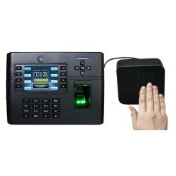 rilevare la temperatura corporea dai dispositivi di rilevazione presenze  iClock 5 FP