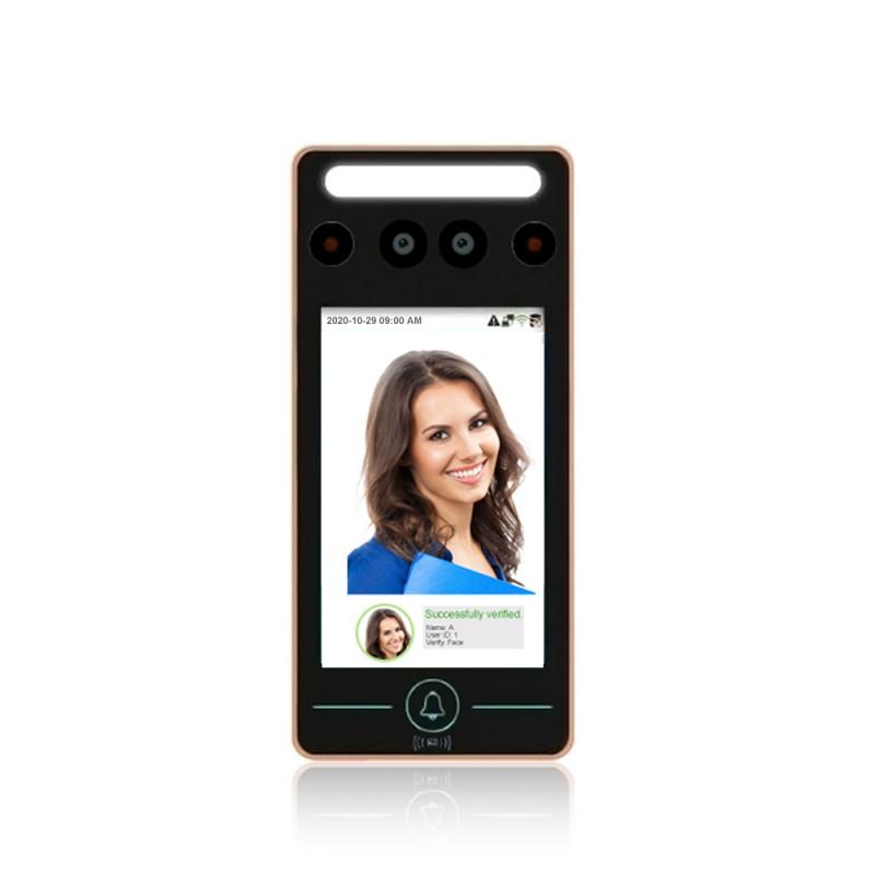 iClock 2 Face WiFi: identificazione facciale e Palmo e lettore di badge RF-ID