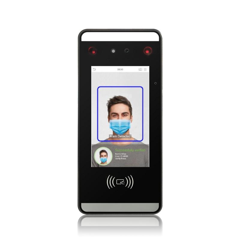 iClock Face Mask identificazione biometrica facciale, palmo, mascherina