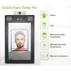 termo-scanner per il controllo della Temperatura Corporea e riconoscimento biometrico