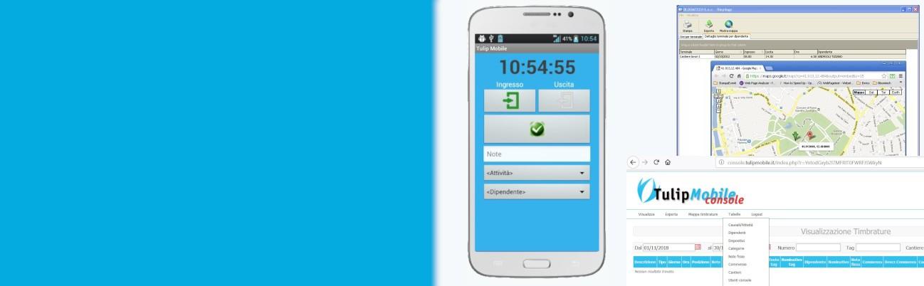 Rilevazione Presenze da smartphone