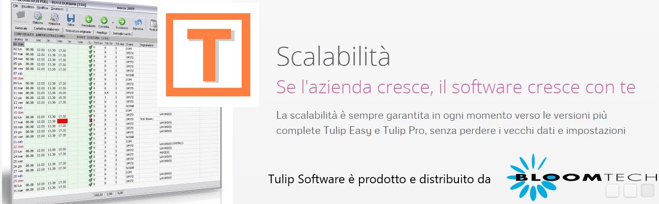 Software Tulip Presenze prodotto da Bloomtech